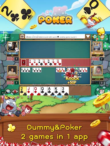 Dummy & Toon Poker Texas slot Online Card Game  Screenshots 15