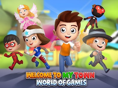 My Town World: 3D Mini Games for Kids 6
