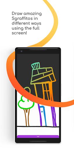 Sgraffito Drawing Pad - Digital art set doodle app 2.2.0 Screenshots 1