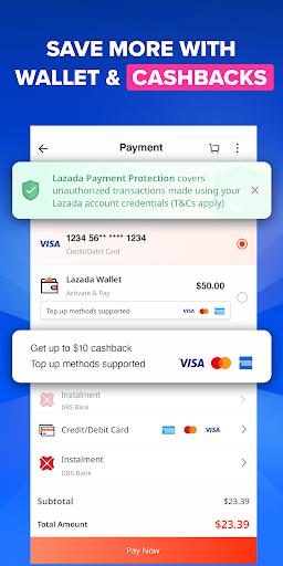Lazada - Online Shopping App apktram screenshots 7