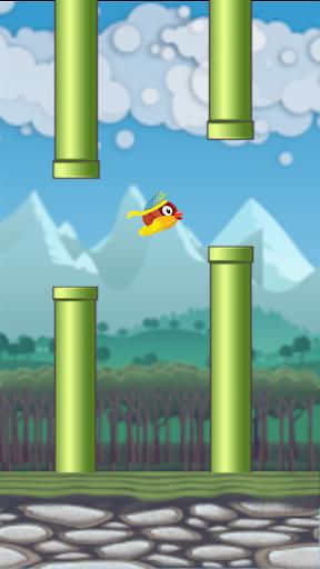 Flying Bird - Flapper Birdie Game  screenshots 6