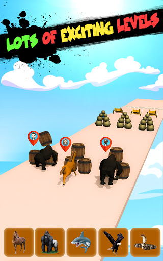 Epic Animal Dash Run 3D: Hop and Smash  screenshots 4