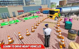 Oil Tanker Truck Parking Games – City Parking game