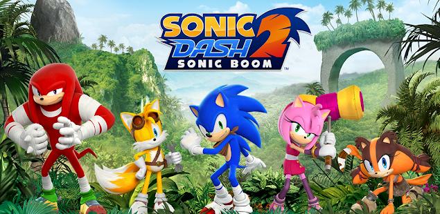 Sonic Dash 2: Sonic Boom Mod Apk