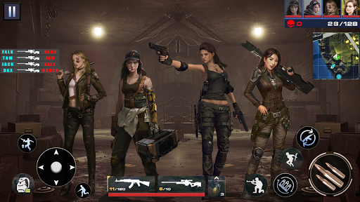 Real Commando Shooting FPS Game: Sniper Shooting  screenshots 12