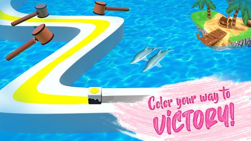Line Color Game: 3D Adventure  screenshots 23