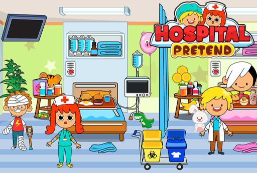 My Pretend Hospital - Kids Hospital Town Life apkpoly screenshots 6