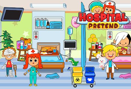 My Pretend Hospital - Kids Hospital Town Life 2.1 Screenshots 6