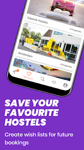 Hostelworld: Hostels & Backpacking Travel App Screenshot