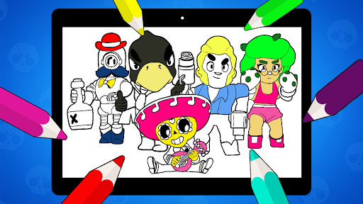 Coloring Pages for Brawl BS  screenshots 19