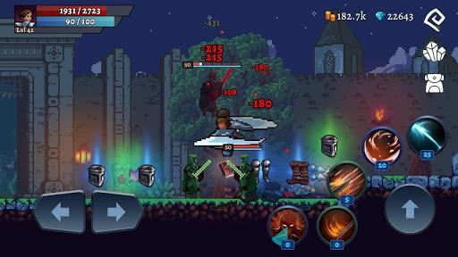 Darkrise - Pixel Classic Action RPG 0.4.9 screenshots 1