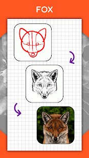 How to draw animals. Step by step drawing lessons 1.5.3 Screenshots 4
