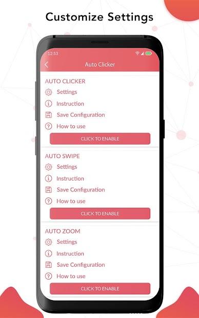 Auto Clicker – أداة النقر التلقائي ،