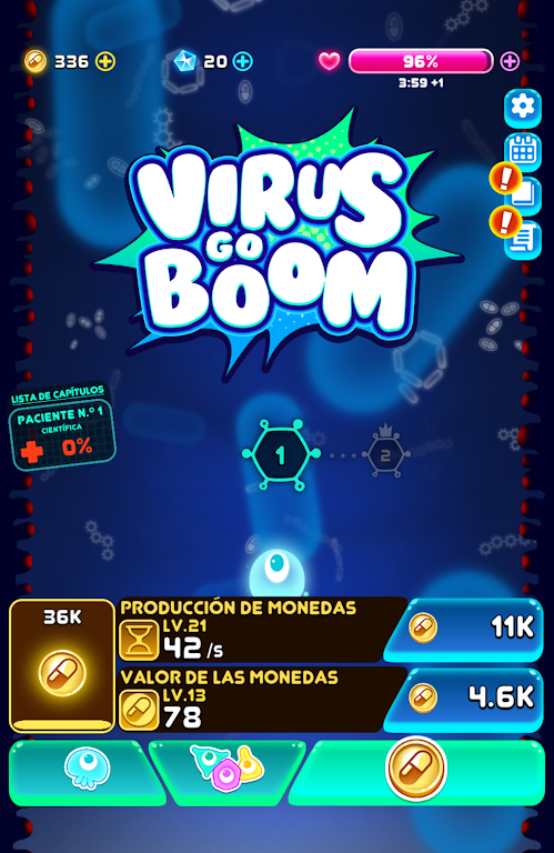 Virus go BOOM - New cute game & arcade shooter  poster 2