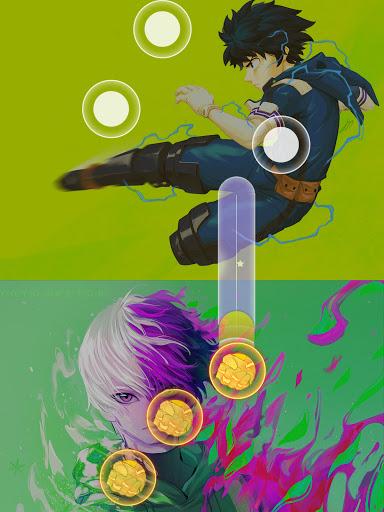Anime Piano Magic Tiles - SAO Ghoul Boku Titan 1.8 screenshots 7