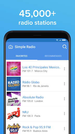 Simple Radio u2013 Free Live AM FM Radio & Music App 3.1.1 Screenshots 4
