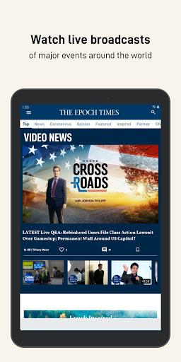 The Epoch Times: Live & Breaking News  screenshots 13