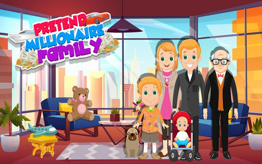 Pretend Play My Millionaire Family Villa Fun Game 1.0.3 screenshots 12