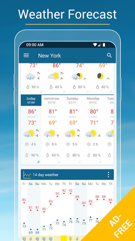 Weather & Radar USA - ad free poster 2
