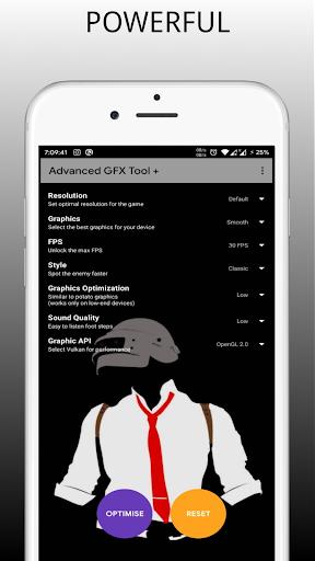 Potato Graphics - GFX tool (Indian Version) modavailable screenshots 2
