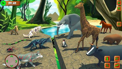 Wild Wolf Chasing Animal Simulator 3D 1.5 Screenshots 2