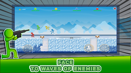 Stickman Héroes: Epic Game screenshot 9