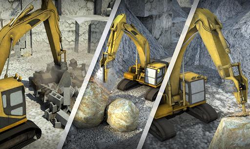 Hill Excavator Mining Truck Construction Simulator screenshots 3