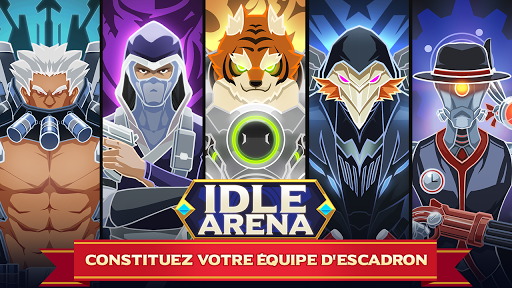 Télécharger Gratuit Idle Arena - Bataille de héros clicker mod apk screenshots 1