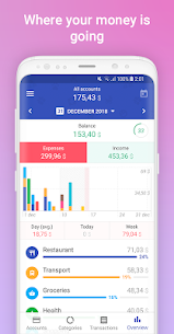 1Money Premium v2.3.0 MOD APK – Expense Tracker, Money Manager, Budget 3