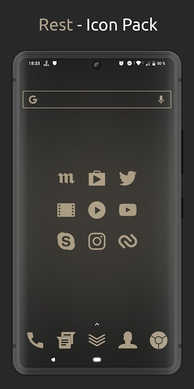 Rest - Icon Pack  poster 2