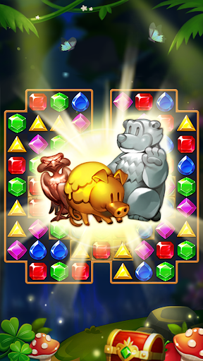 Jewels Forest : Match 3 Puzzle apkpoly screenshots 17