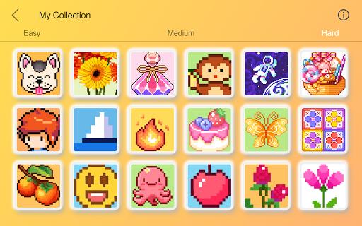 Happy Pixel Puzzle: Free Fun Coloring Logic Game screenshots 14