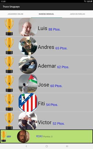 Truco Uruguayo apktram screenshots 12