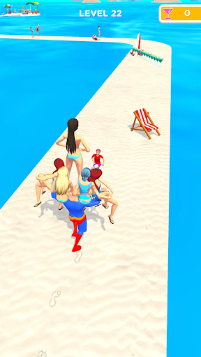 Beach Party Run Apkfinish screenshots 3