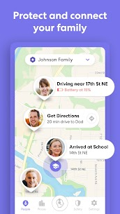 Free Life360  Family Locator  GPS Tracker for Safety 3