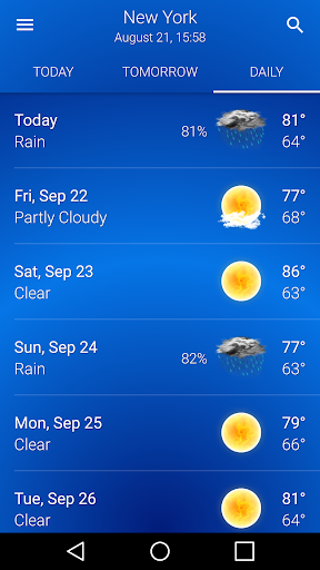 Weather US 212 Screenshots 4