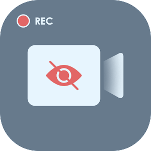 Background Video Recorder Secret Video Recorder 1.0 by The Hevvi App Studio logo