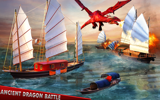 Flying Dragon Battle Simulator : City Attack  screenshots 11