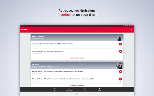 France Inter - radio, podcasts, actu 6.0.0 screenshots 16