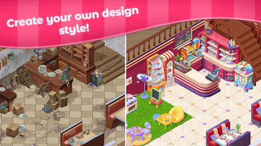 Grand Cafe Storyuff0dNew Puzzle Match-3 Game 2021 2.0.26.1 screenshots 3