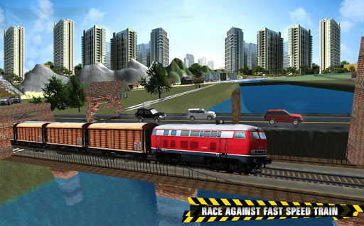 Train vs Prado Racing 3D: Advance Racing Revival modavailable screenshots 8