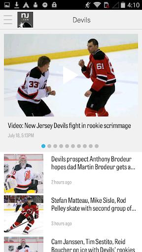 nj.com: new jersey devils news screenshot 2