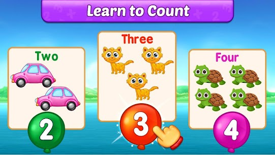 Free Math Kids – Add, Subtract, Count, and Learn 4