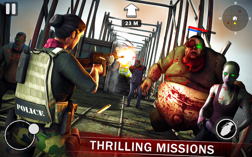 rise of dead trigger frontline zombie shooter screenshot 1