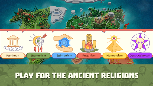 God Simulator. Sandbox strategy game Religion Inc. screenshots 1