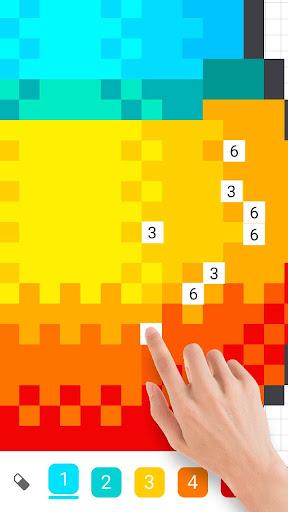 InDraw - Color by Number Pixel Art apktram screenshots 4