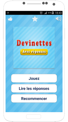 Devinette en Franu00e7ais screenshots 8