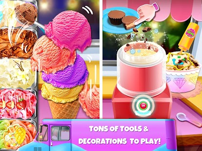 Ice Cream Master: Free Food Making Cooking Games Screenshot