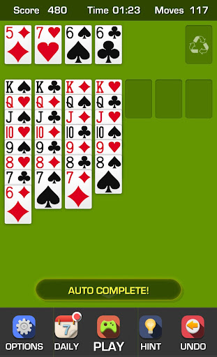 Free Solitaire Game screenshots 2