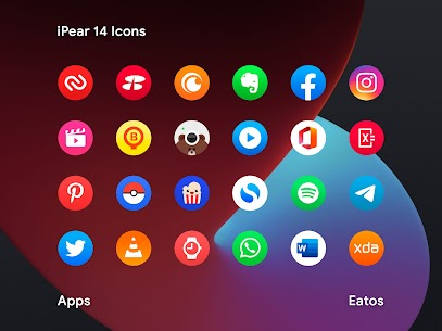 iPear 14 APK- Round Icon Pack (PAID) Download Latest 3